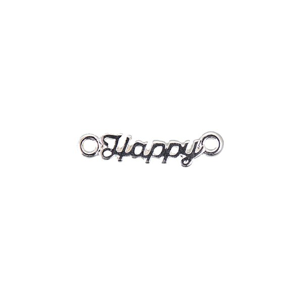 Jewellery Made by Me Schriftzug Happy 19x6mm