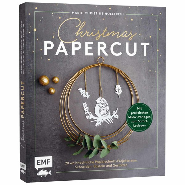 EMF Christmas Papercut - Weihnachtliche Papierschnitt-Projekte