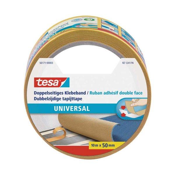 tesa Klebeband universal doppelseitig 50mm 10m