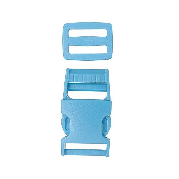 Jewellery Made by Me Steckverschluss mit Schnalle blau 25mm