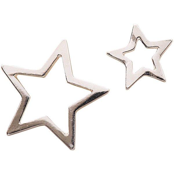 Jewellery Made by Me Anhänger Sterne silber 2 Stück