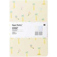 Paper Poetry Notizbücher Maritim A5 40 Seiten 2 Stück