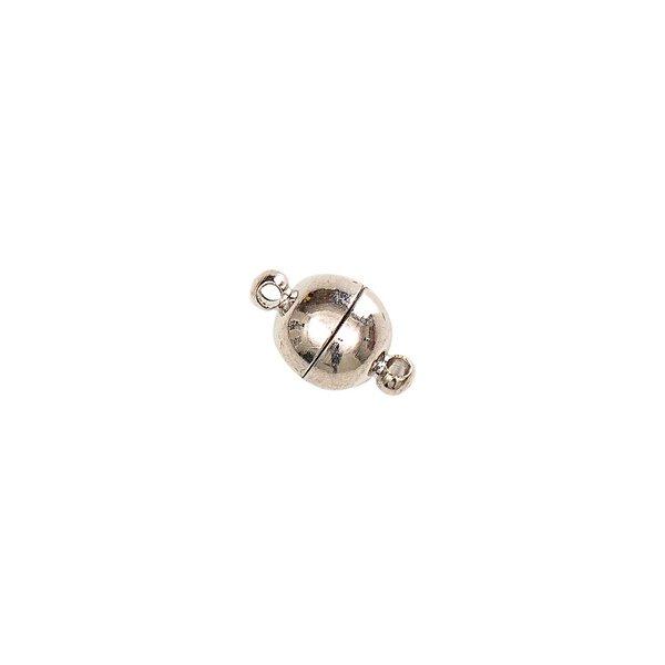 Jewellery Made by Me Magnetverschluß rund silber 8mm