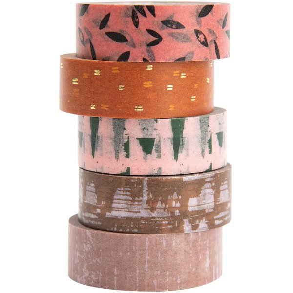Paper Poetry Tape Set Struktur 5teilig