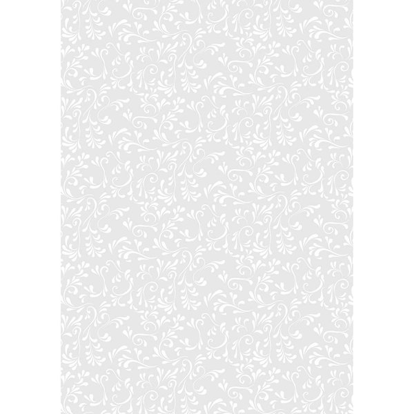 HEYDA Transparentpapier Primavera Roma weiß 50x70cm 115g/m²