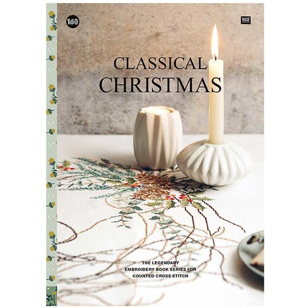 Rico Design Stickbuch Classical Christmas Nr. 160