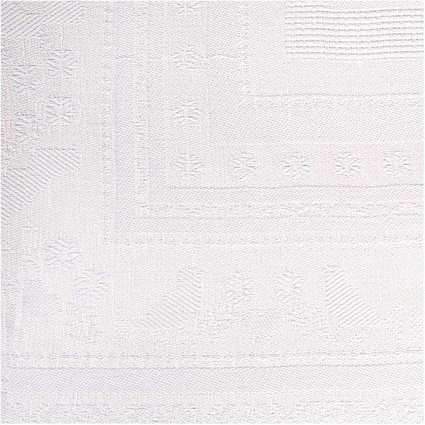 Rico Design Tischdecke zum Besticken weiß 92x92cm