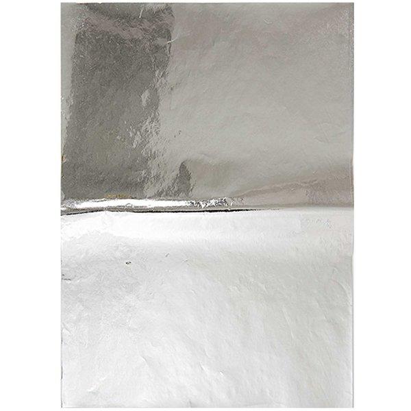 Rico Design Paper Patch Papier silber 30x42cm Hot Foil