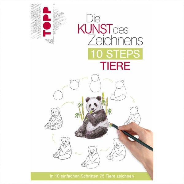 Die Kunst des Zeichnens 10 Steps: Tiere