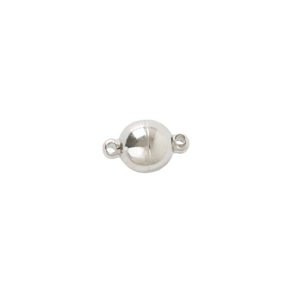 Jewellery Made by Me Magnetverschluss rund Edelstahl 8mm