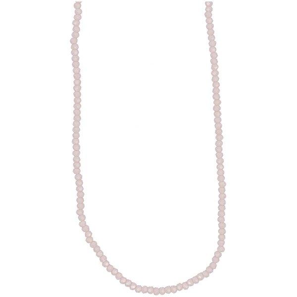 Rico Design Glasschliffkette rosa 70cm
