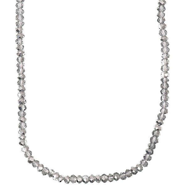 Rico Design Glasschliffkette silber 70cm