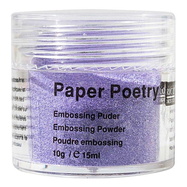 Paper Poetry Embossingpuder violett perlmutt 10g