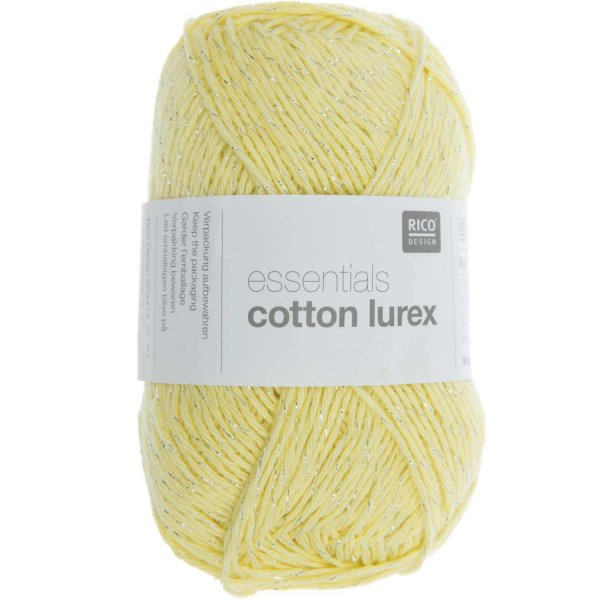 Rico Design Essentials cotton Lurex 50g 170m