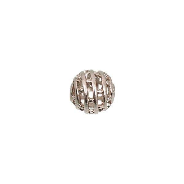 Jewellery Made by Me Metallkugel Kreise roségold 10mm 6 Stück