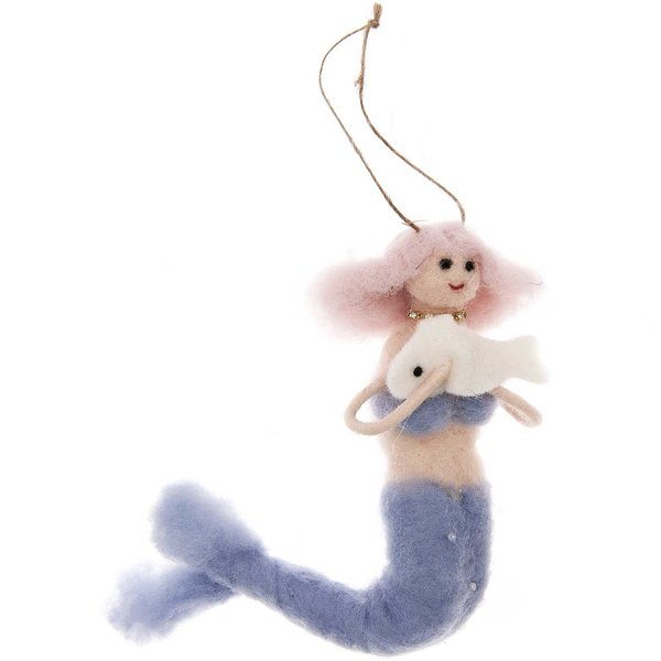 Ohhh! Lovely! Filzhänger Meerjungfrau 13cm