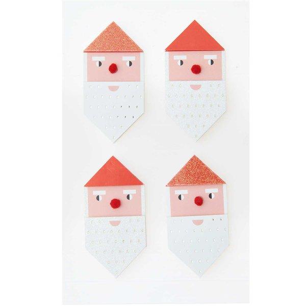 Paper Poetry 3D Sticker Weihnachtsmann
