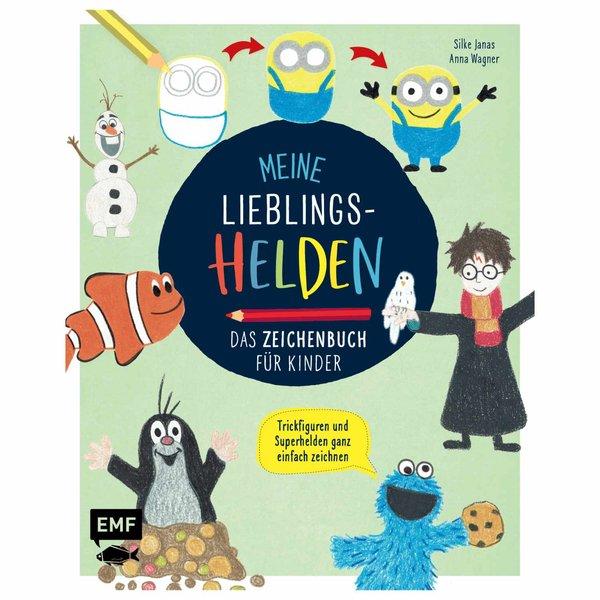 EMF Meine Lieblingshelden - Das Zeichenbuch für Kinder