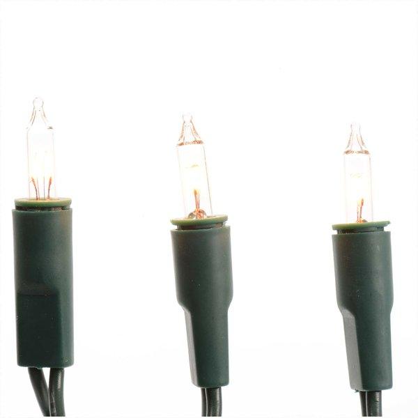 LED Minilichterkette 10 Lichter warmweiß 150cm