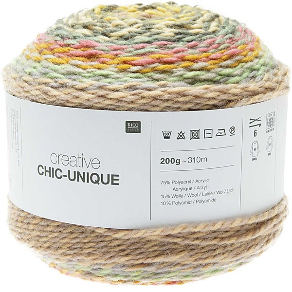 Rico Design Creative Chic-Unique 200g 310m