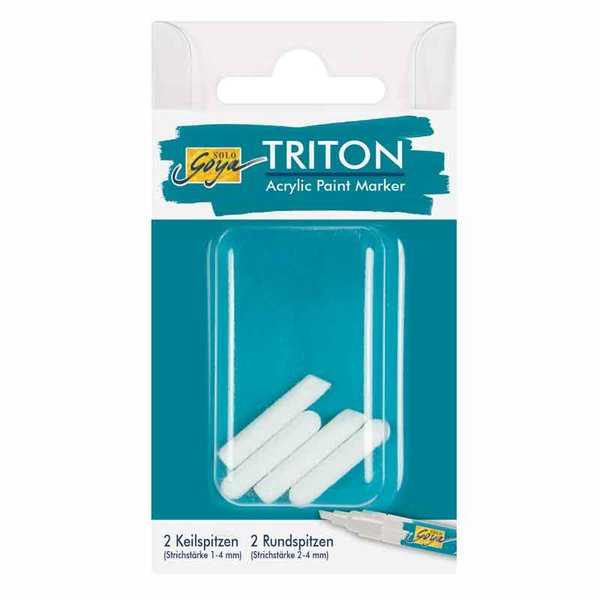KREUL Ersatzspitzen für TRITON Acrylic Paint Marker 1-4mm