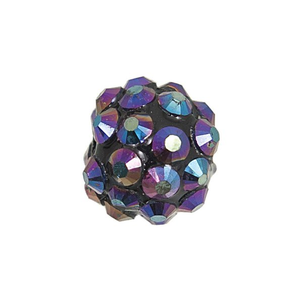 Jewellery Made by Me Strasskugel blau irisierend 12mm 6 Stück