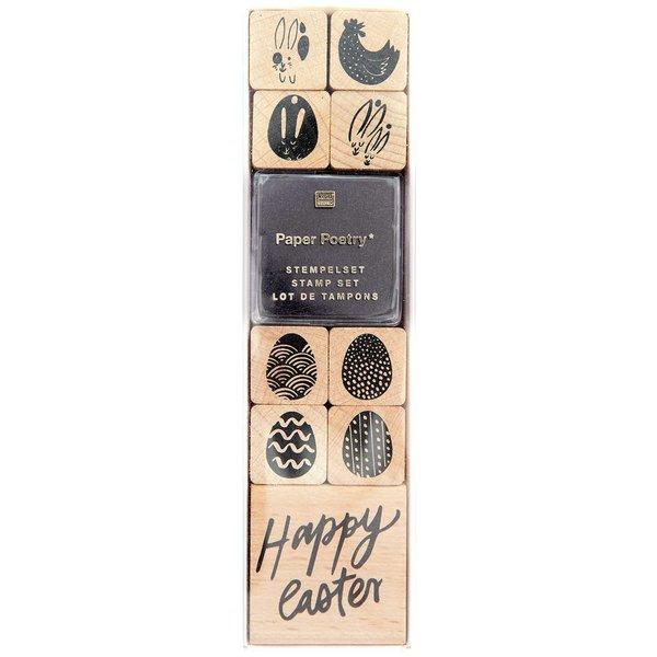 Paper Poetry Stempelset Happy Easter 9 Stempel