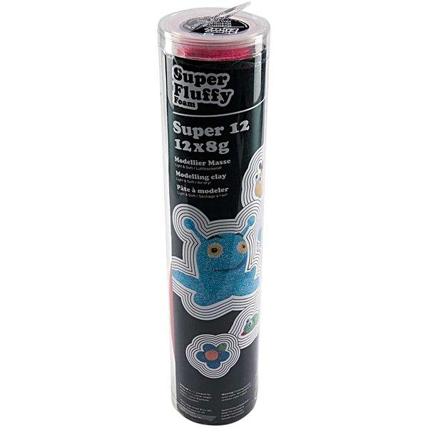 Rico Design Super Fluffy Foam Modellier Set Top 12
