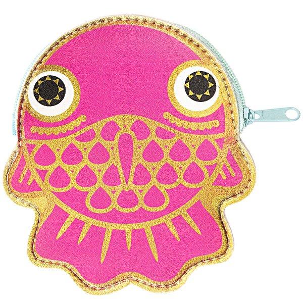 Paper Poetry Geldbeutel Fisch pink 0,5x10x11,5cm