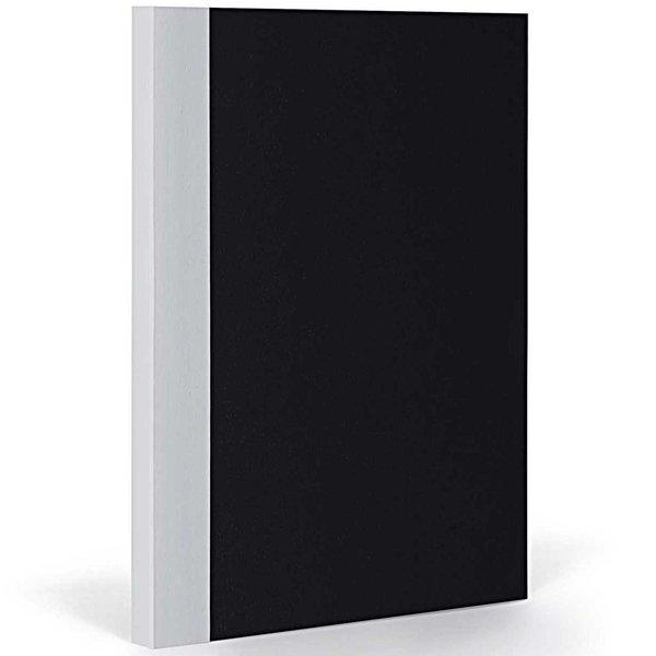 FANTASTICPAPER Notizbuch XL kariert black-coolgrey