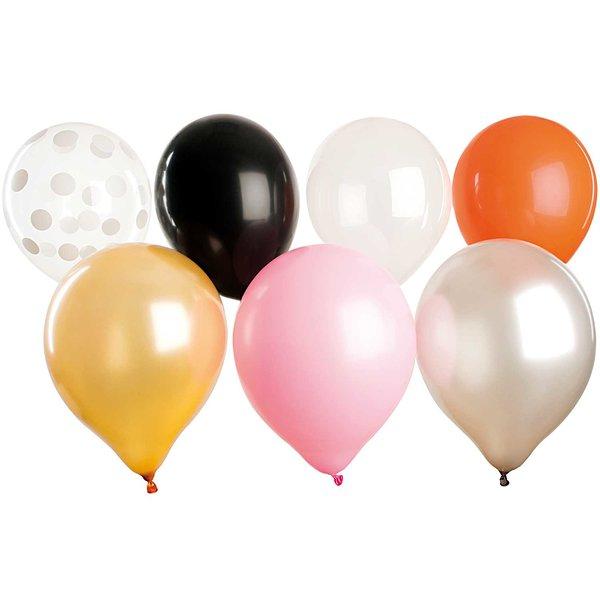 YEY! Let's Party Luftballon Mix Halloween 30cm 12 Stück