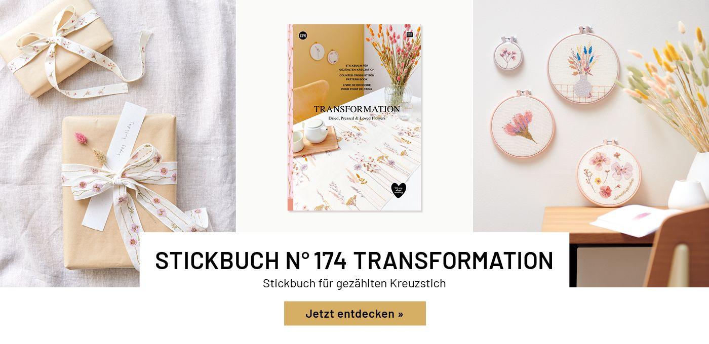 Stickbuch Transformation
