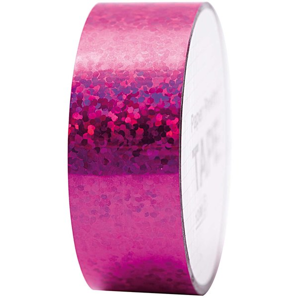Paper Poetry Holographic Tape Punkte pink 19mm 10m