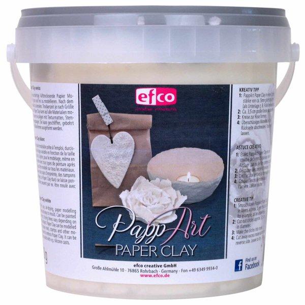 efco PappART Paper Clay weiß 900g