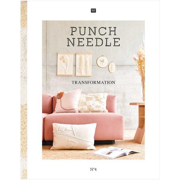 Rico Design Stickbuch Punch Needle Nr. 4 Transformation