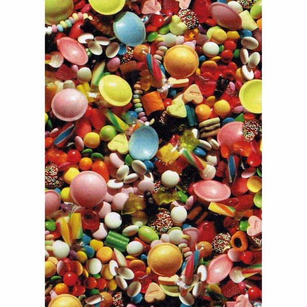 décopatch Papier Süßigkeiten 3 Bogen