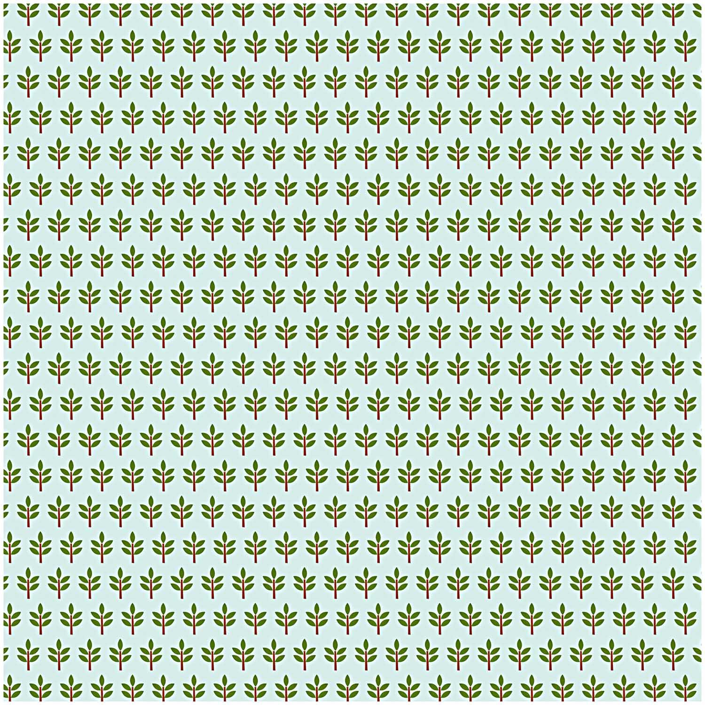 Grüner Dekostoff