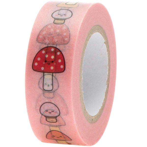Paper Poetry Tape Pilze 1,5cm 10m