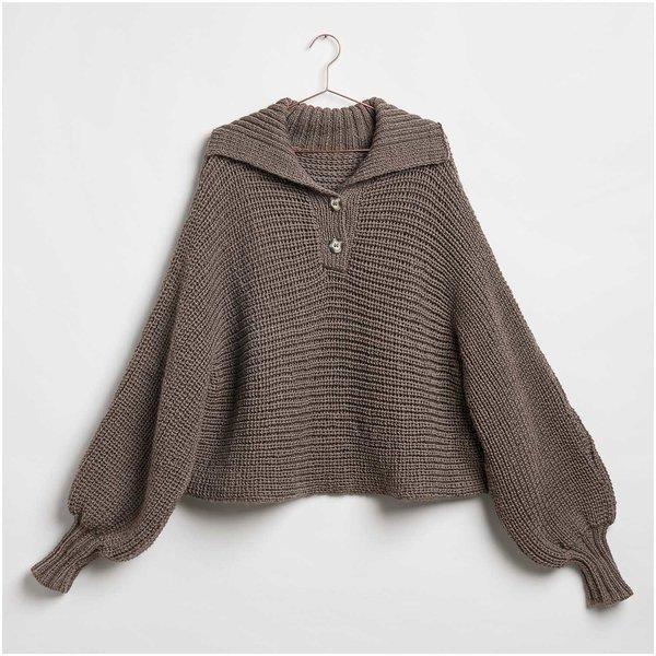 Strickset Pullover Modell 21 aus Die Neue Masche Nr. 1