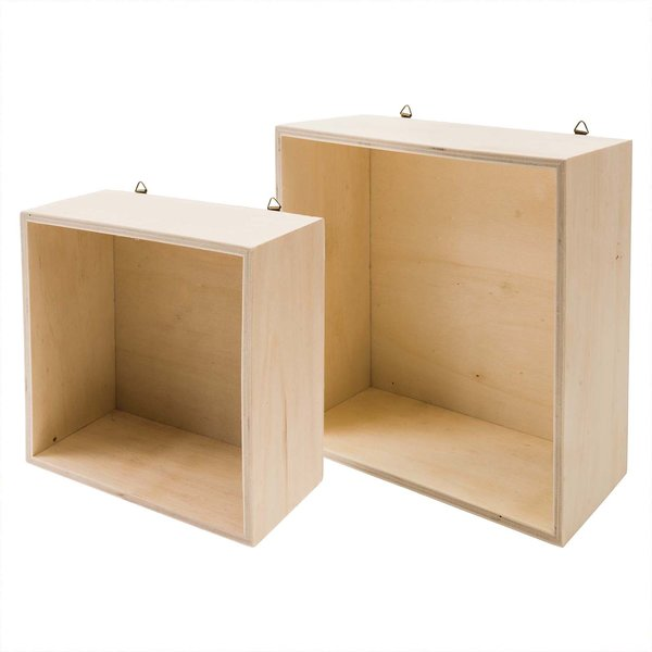 Rico Design Holzbox quadratisch