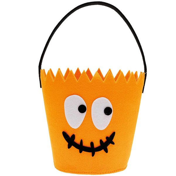 Ohhh! Lovely! Halloween Filzkorb orange 17x18cm