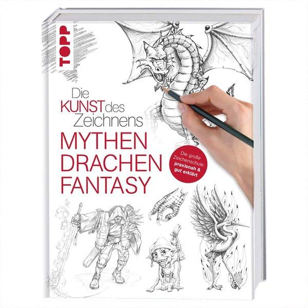 TOPP Die Kunst des Zeichnens Mythen Drachen, Fantasy