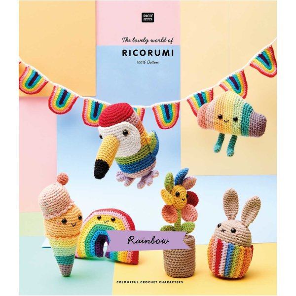Rico Design Ricorumi Rainbow Englisch